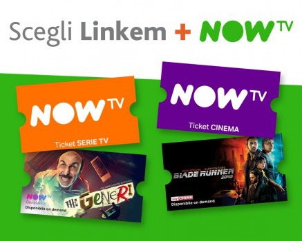 Scegli Linkem + NOW TV